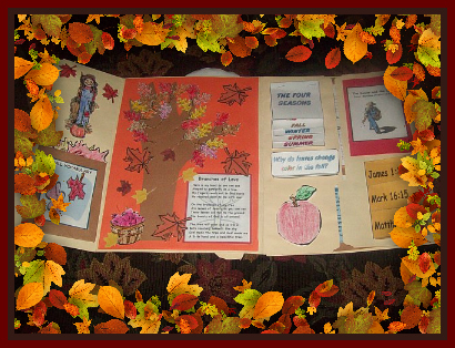 Fall Craft Ideas  Home on Learn All About Autumn  Crafts  Printables  Puzzles  The Four Seasons
